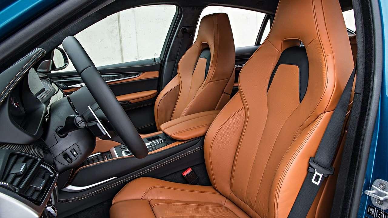 BMW X5M F85 сиденья