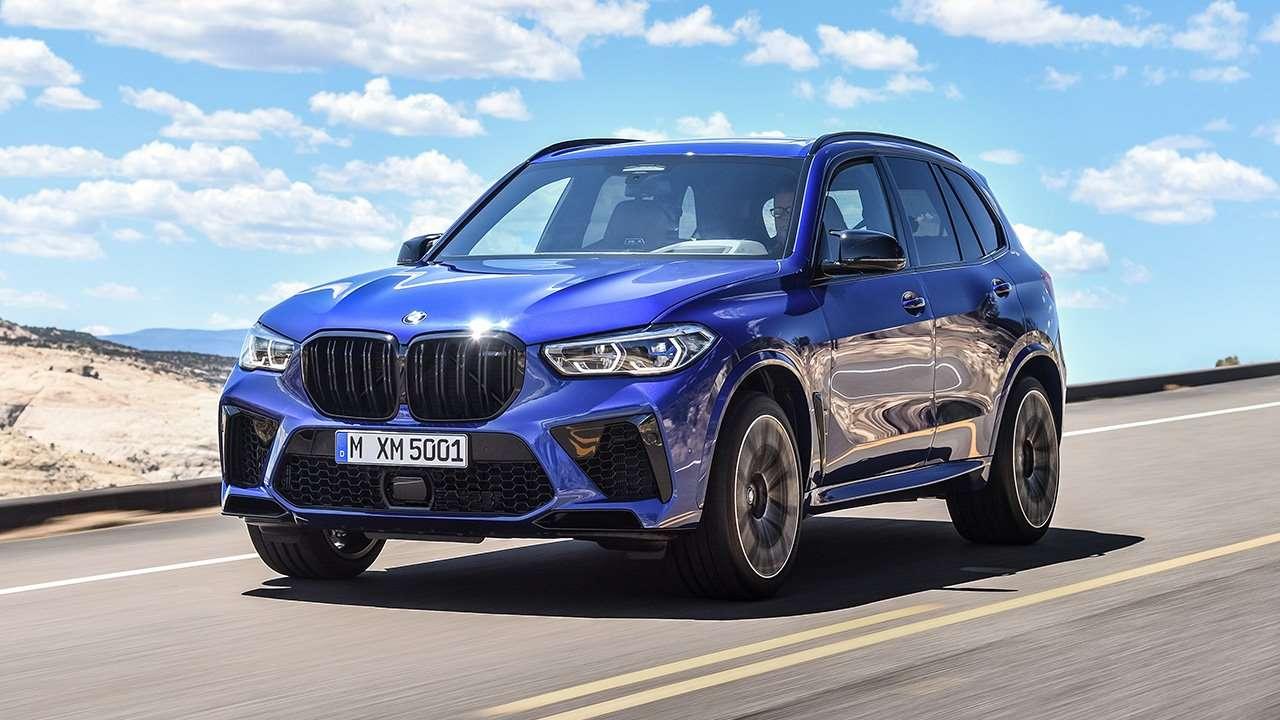 BMW X5M 2019-2020 фото спереди