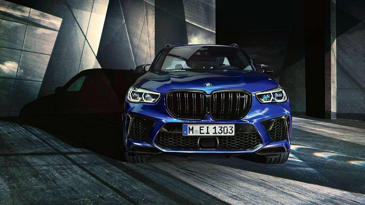 Морда BMW X5M 2019-2020