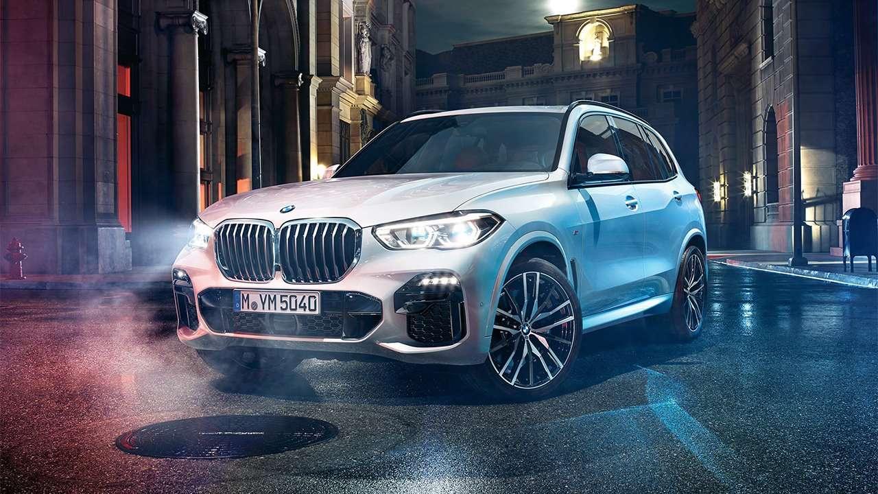Передняя часть BMW X5 2020-2021