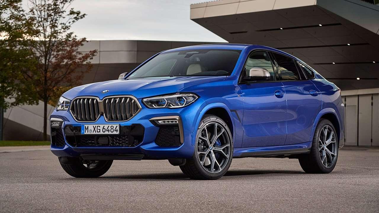 BMW X6 2019-2020 2018-2019 фото спереди