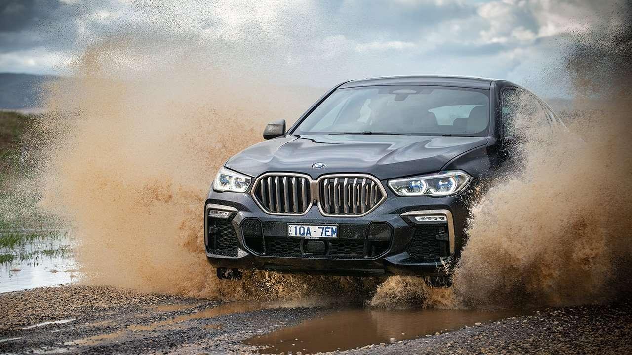 Передняя часть BMW X6 2019-2020