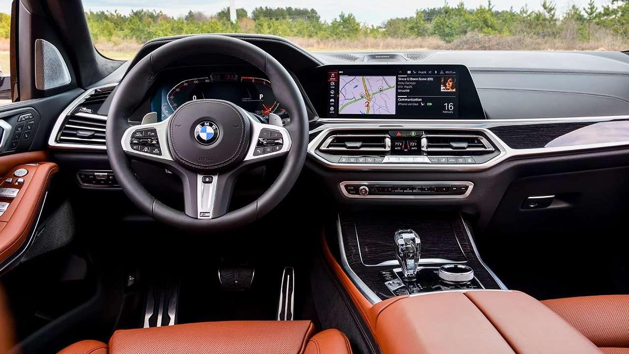 Салон новой BMW X7