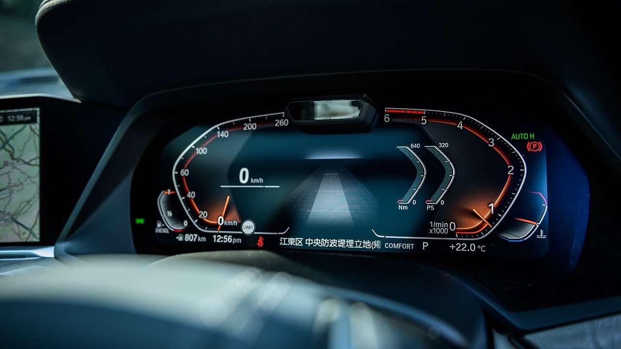 Приборная панель BMW X7 2019-2020
