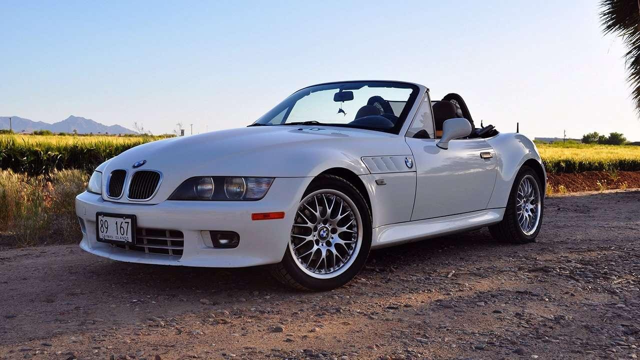 BMW Z3 e36 фото спереди