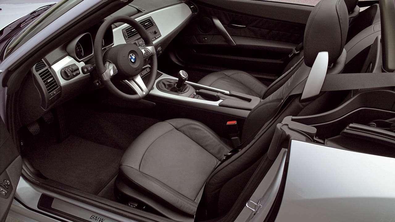 BMW Z4 (e85) сиденья