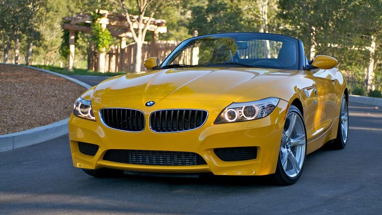 BMW Z4 e89 фото спереди