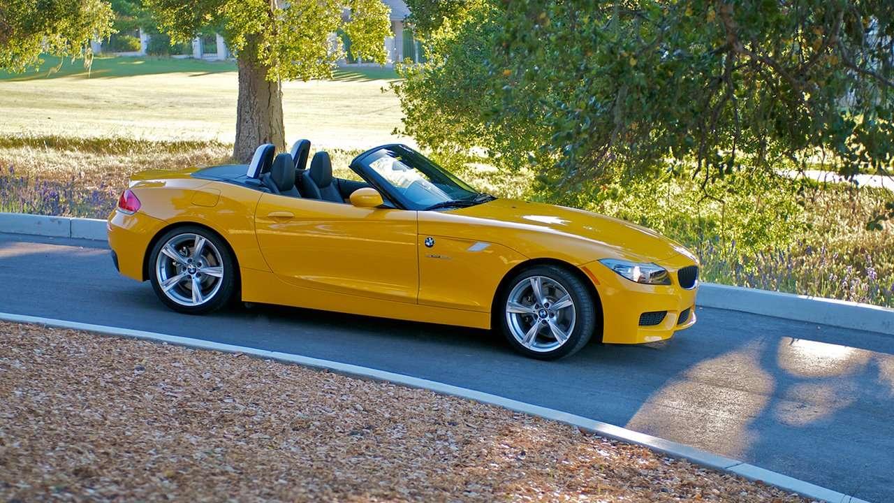 BMW Z4 e89 фото сбоку