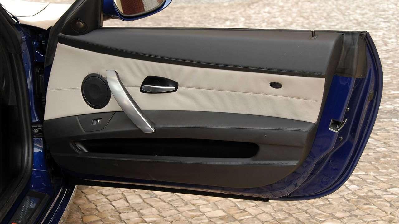 Задняя часть BMW Z4M