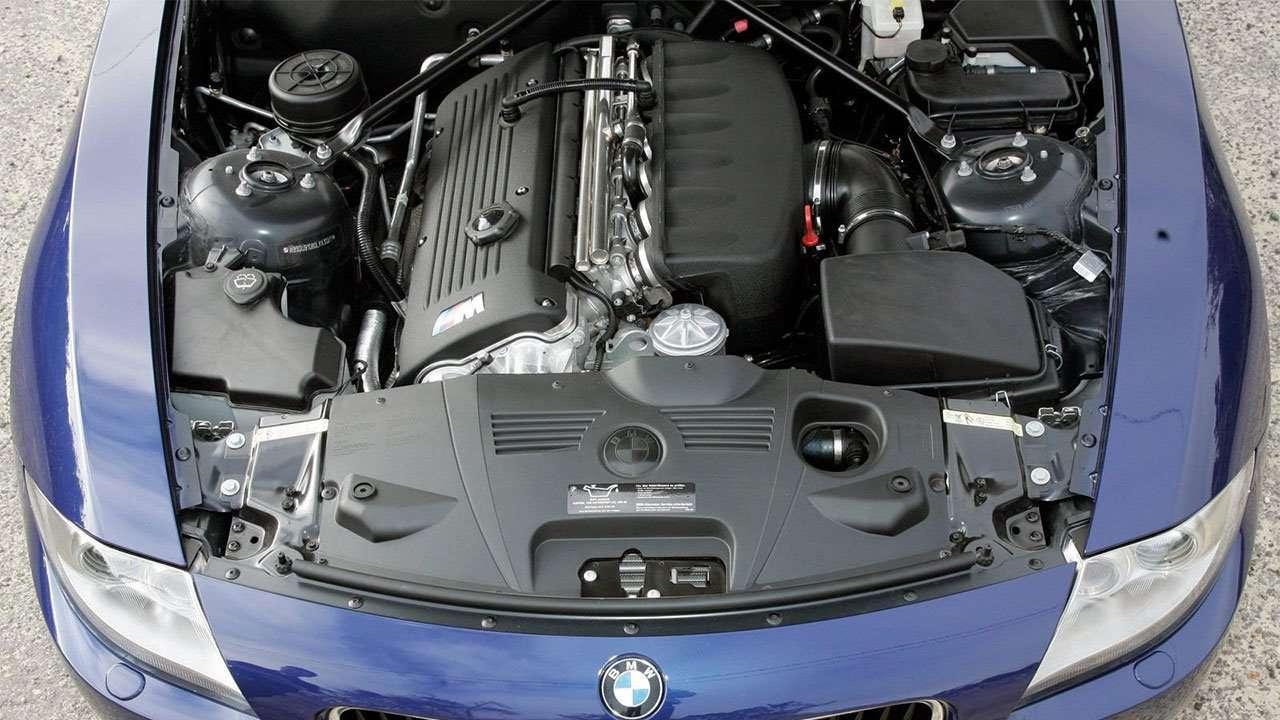 Фото двигателя БМВ Z4M