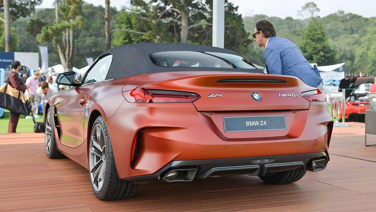 Задняя часть BMW Z4 2020-2021 (G29)