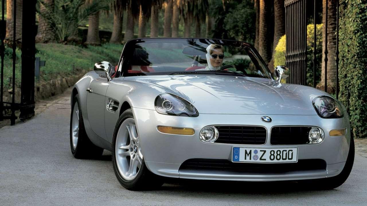 BMW Z8 фото спереди
