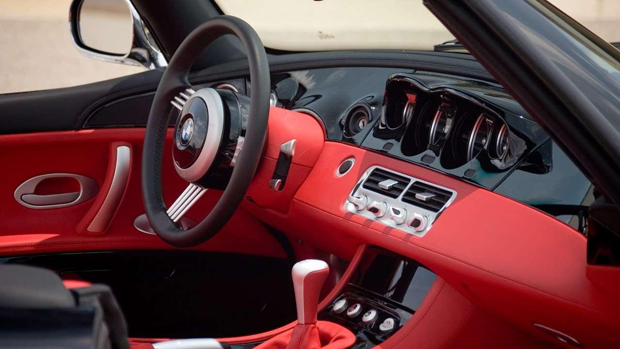 интерьер BMW Z8