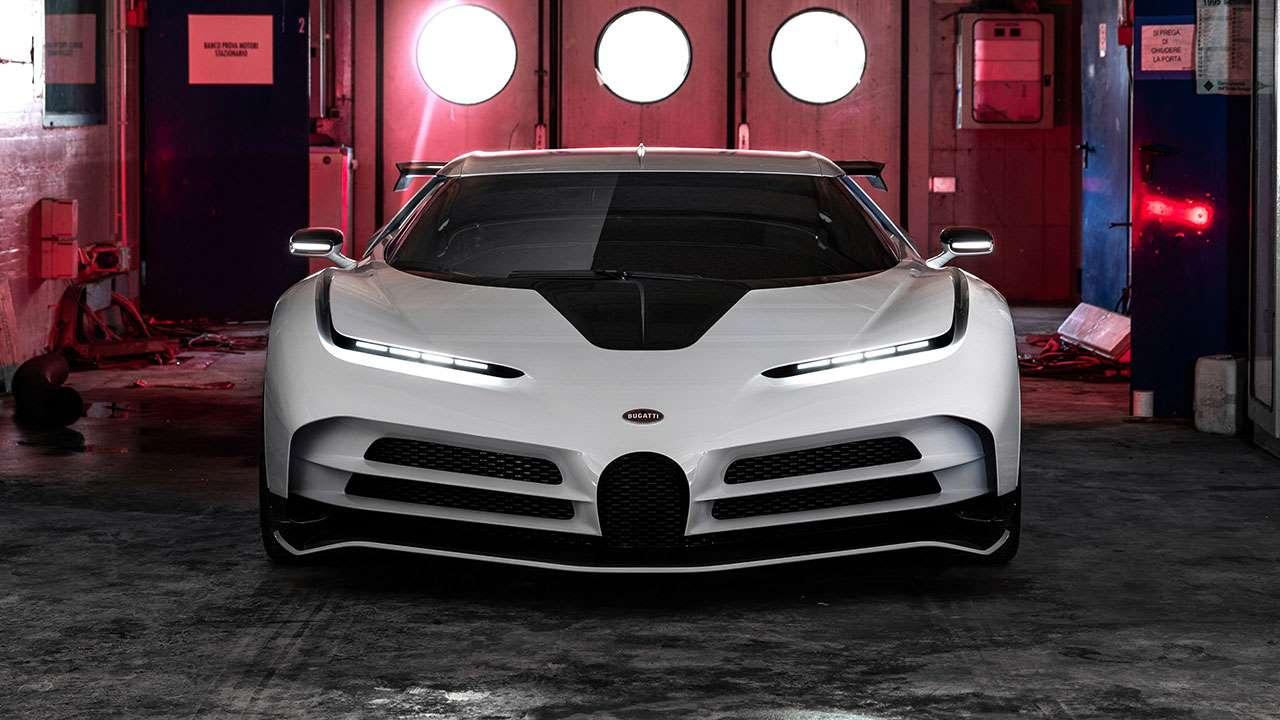 Передняя часть Bugatti Centodieci