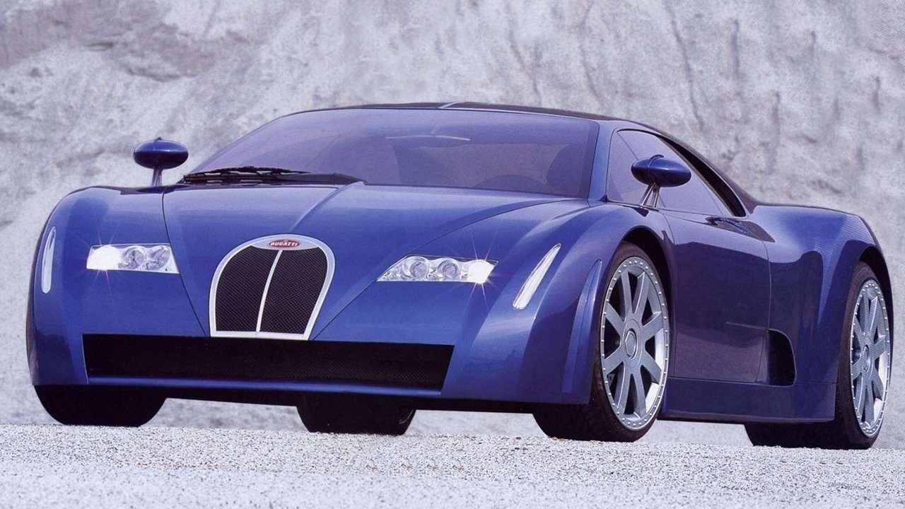 Bugatti EB 18/3 Chiron фото спереди
