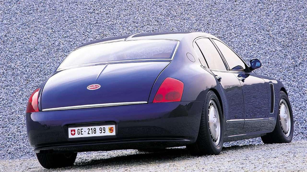 Bugatti EB 218 фото сзади