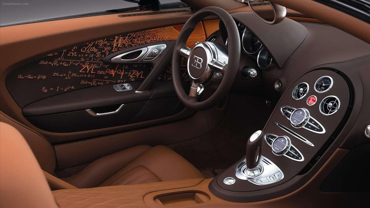 Bugatti Veyron 16.4 салон купе