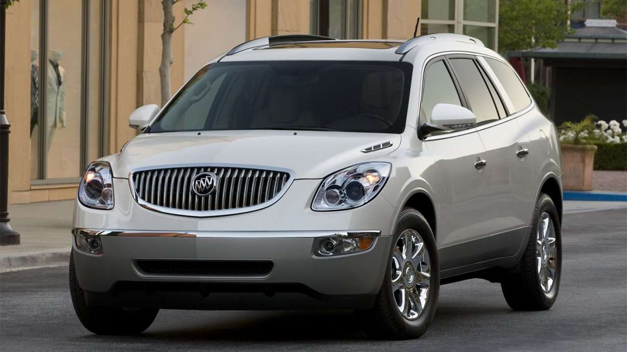 Buick Enclave 2007-2013 фото спереди