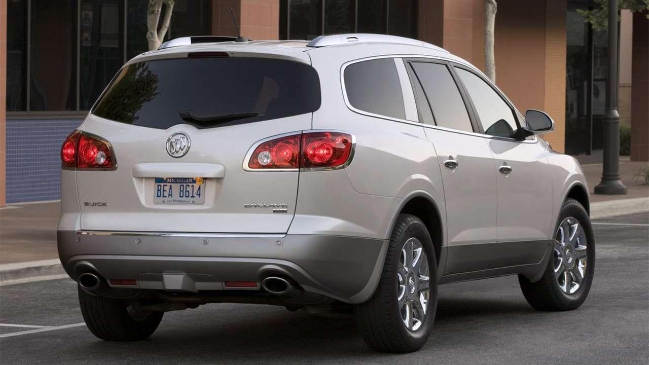 Задняя часть Buick Enclave (2007-2013)