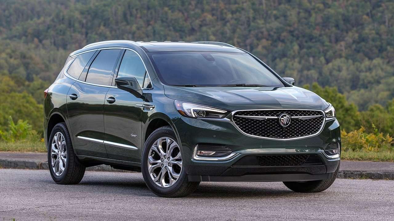 Buick Enclave 2020-2021 фото спереди