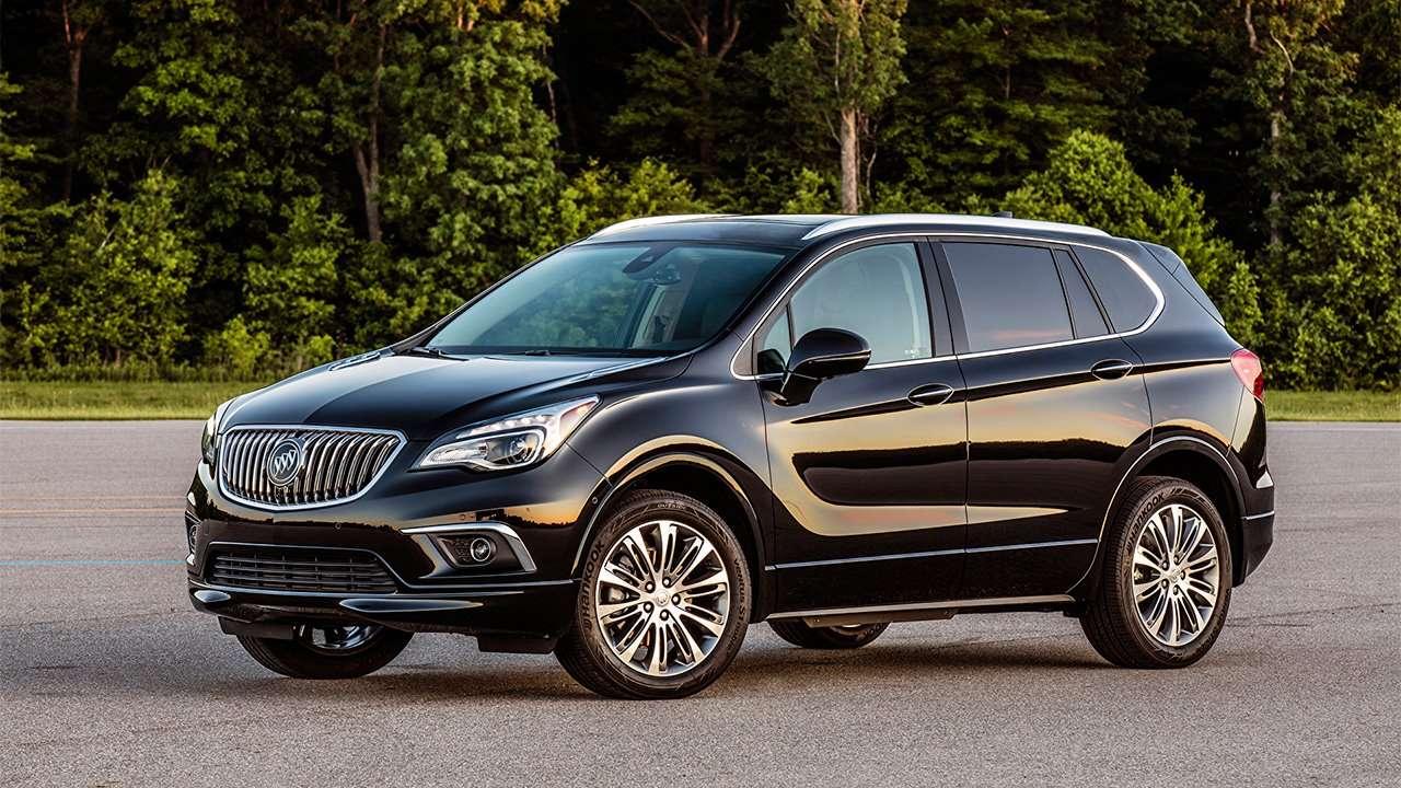 Buick Envision 2016 фото спереди