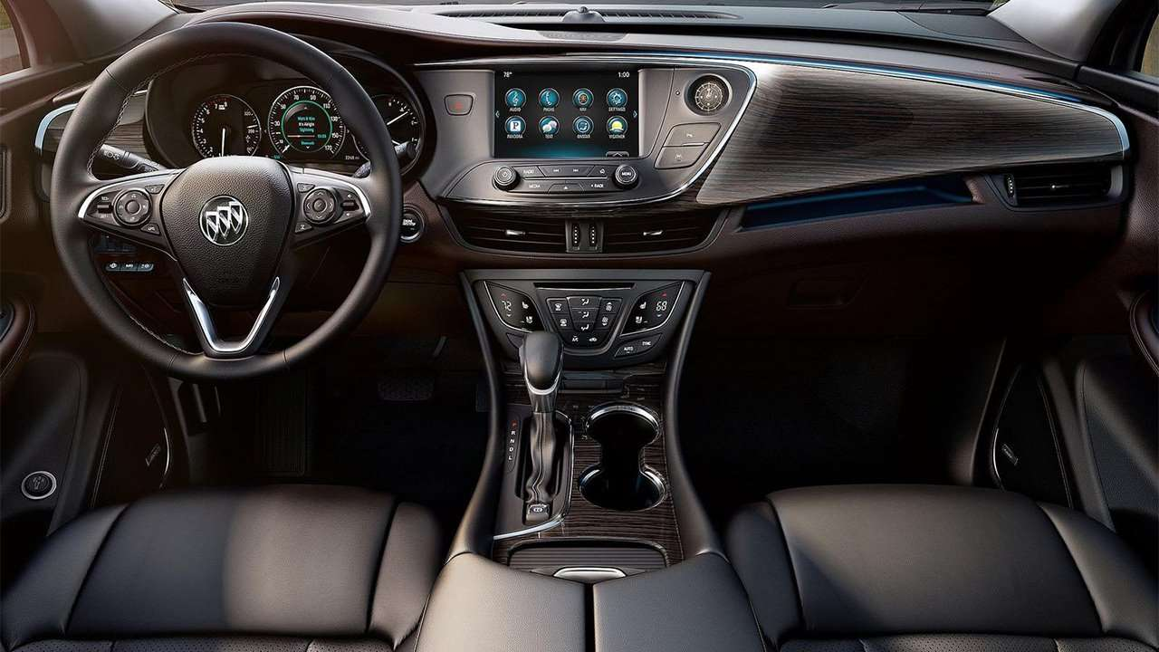 Фото салона Buick Envision 2016