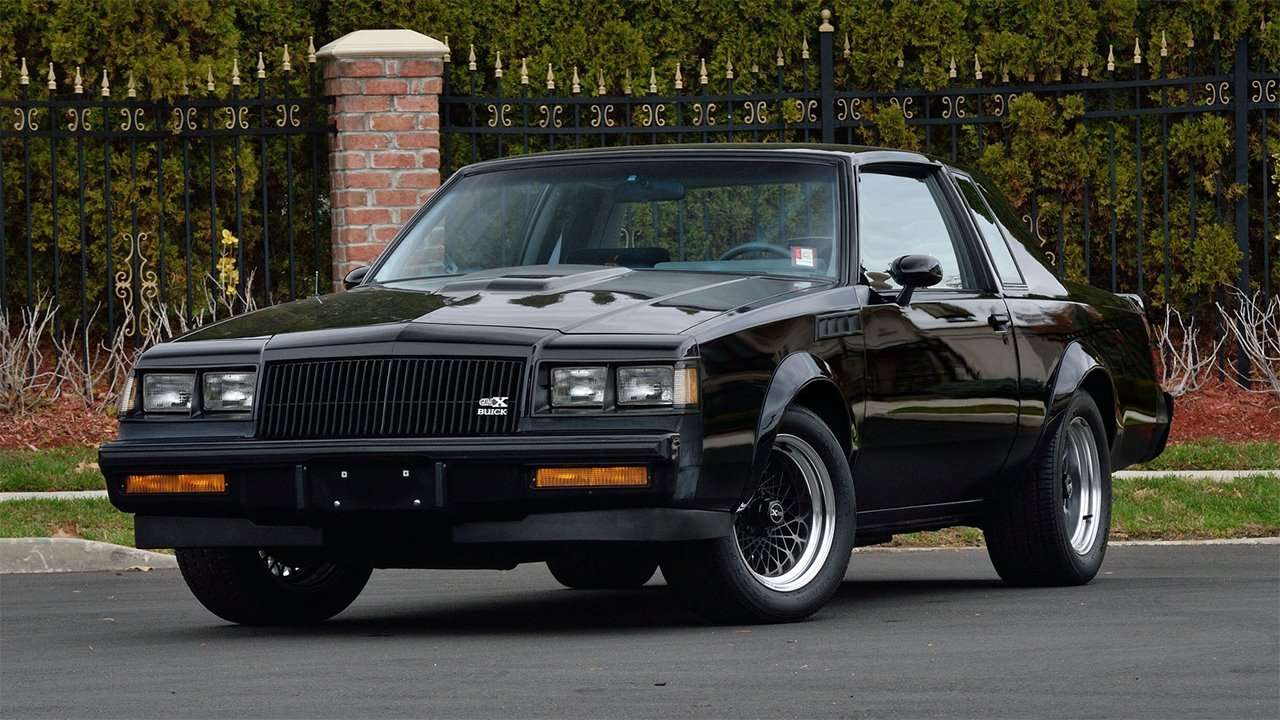 Buick Regal 1987 GNX фото спереди