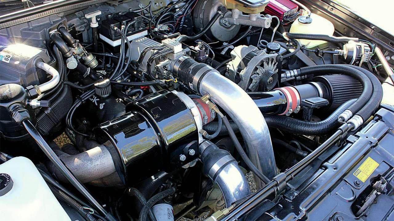 Двигатель мускул-кара GNX