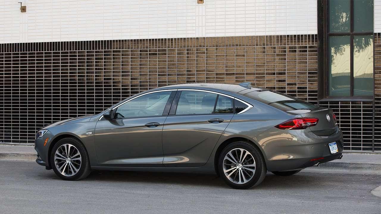 Боковина нового Buick Regal