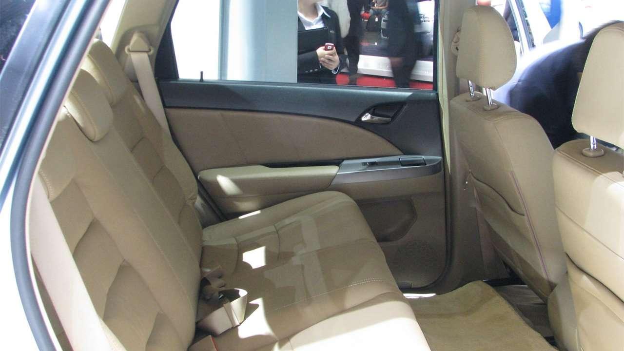Задние сиденья БИД Е6