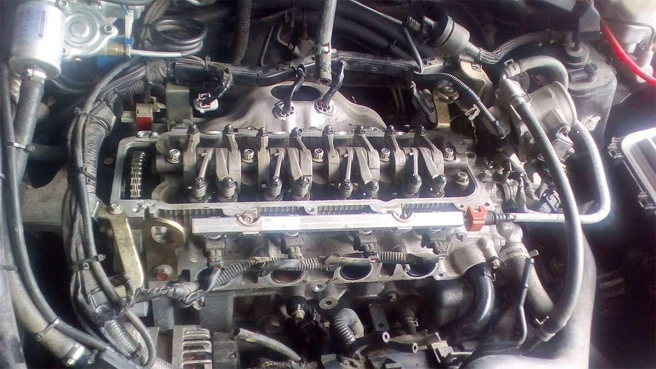Первый двигатель BYD G3