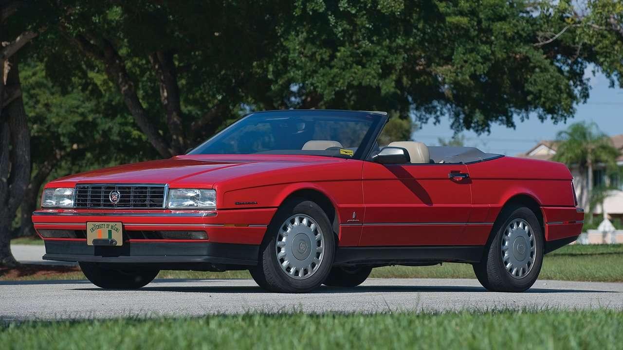 Cadillac Allante фото спереди