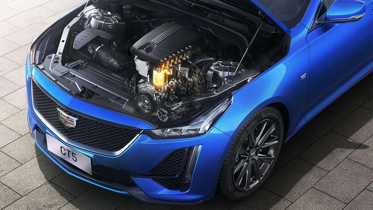 Двигатель нового СТ5