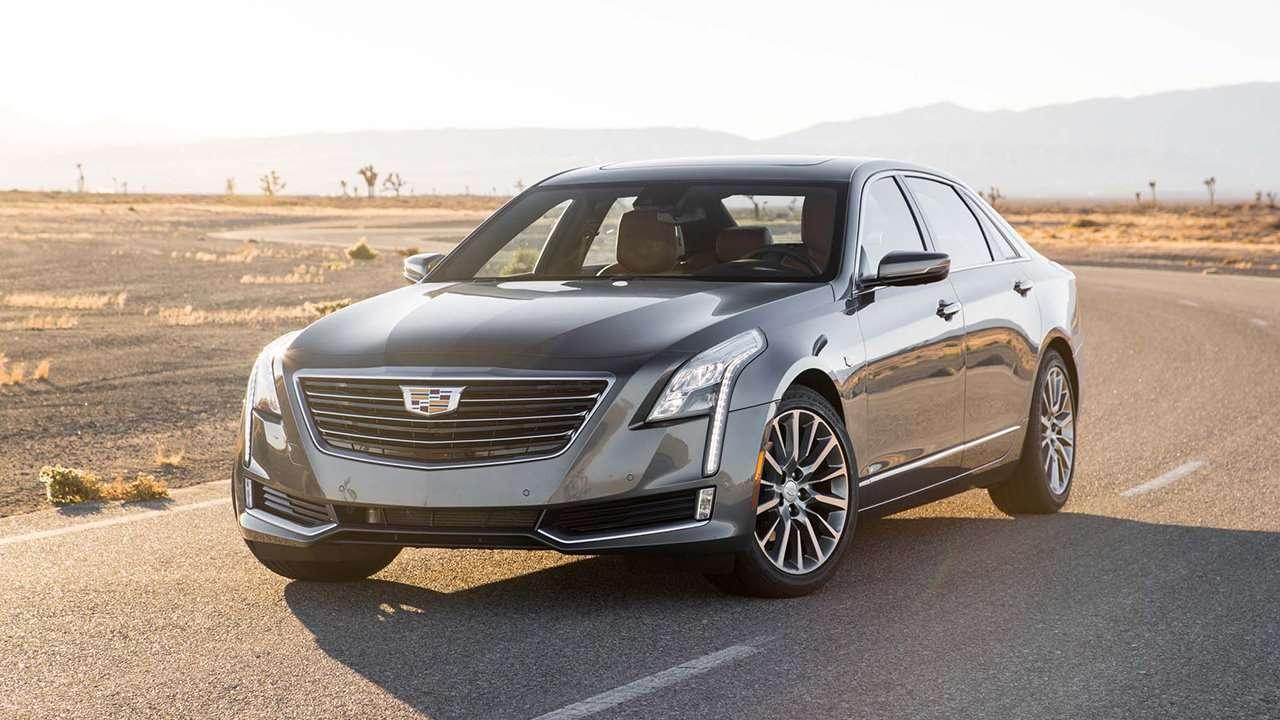 Cadillac CT6 2020-2021 фото спереди