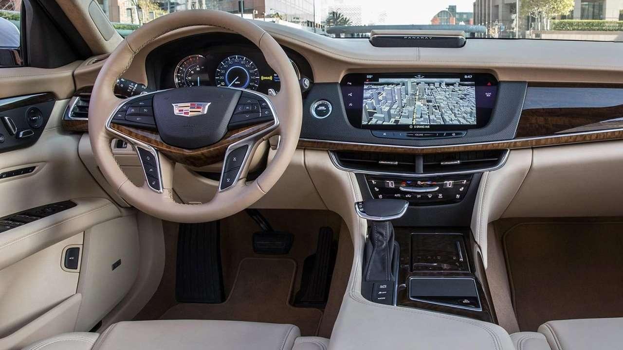 Салон Cadillac CT6 2020-2021