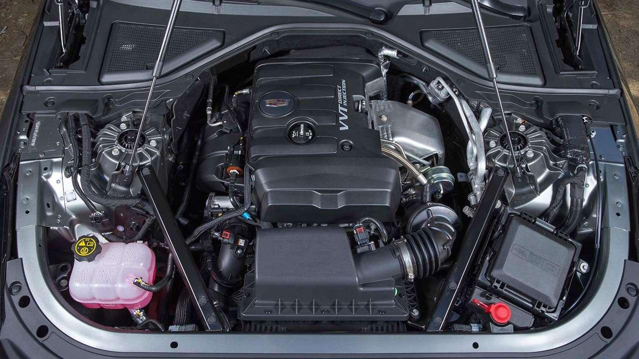Двигатель Кадиллак СТ6 2020-2021