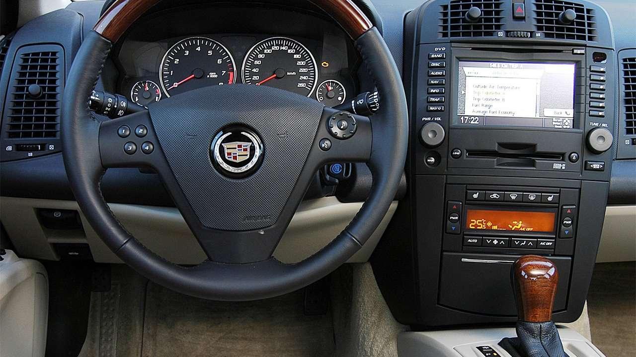 Салон Cadillac CTS 2002-2007