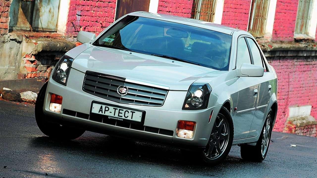 Передняя часть Cadillac CTS 2002-2007