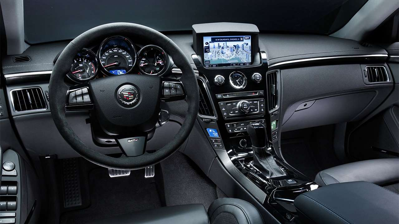 Салон Cadillac CTS 2008-2014