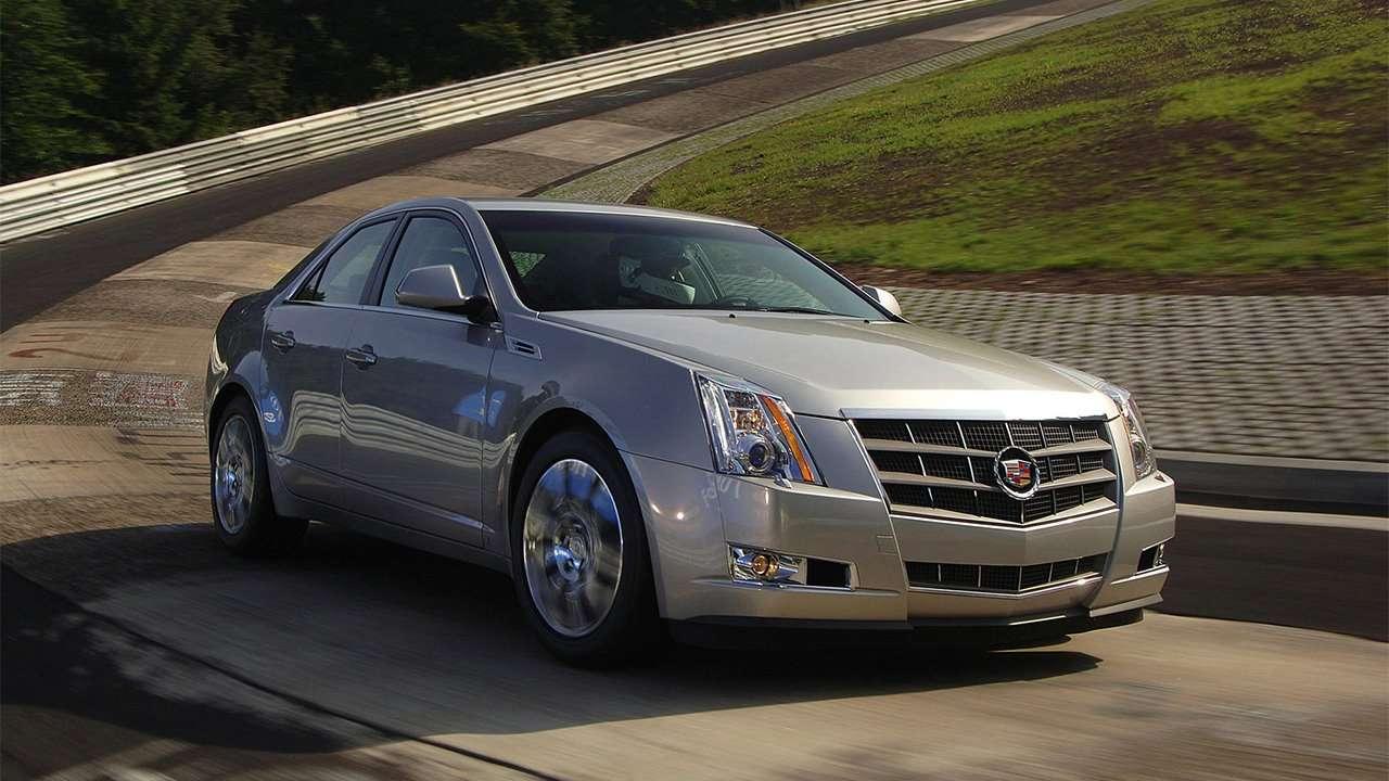 Передняя часть Cadillac CTS 2008-2014