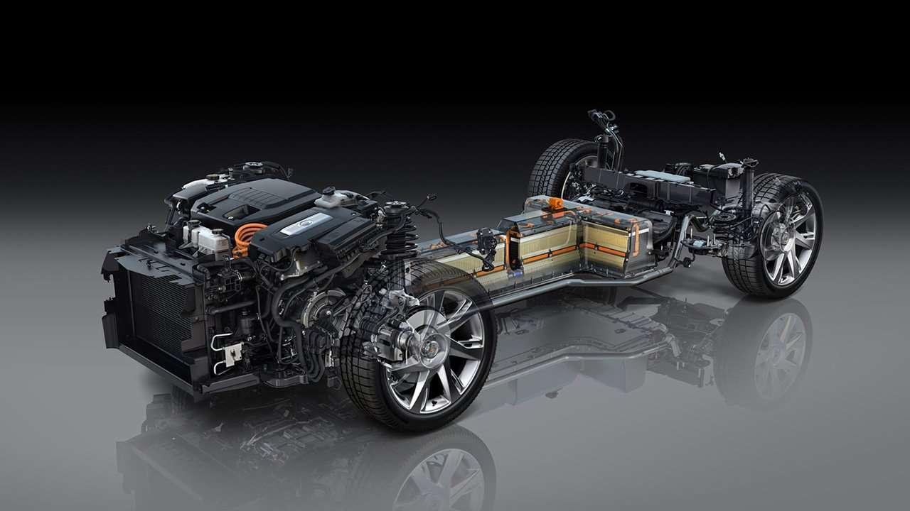 Схема Cadillac ELR