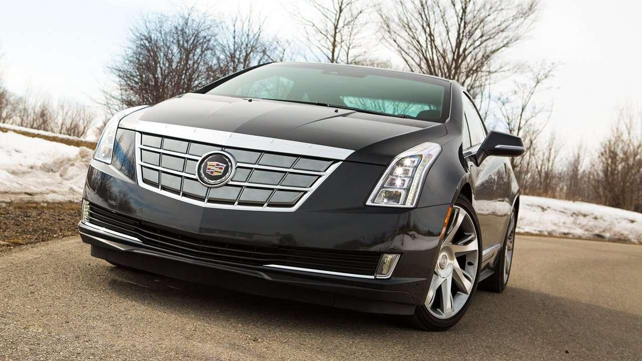 Морда Cadillac ELR