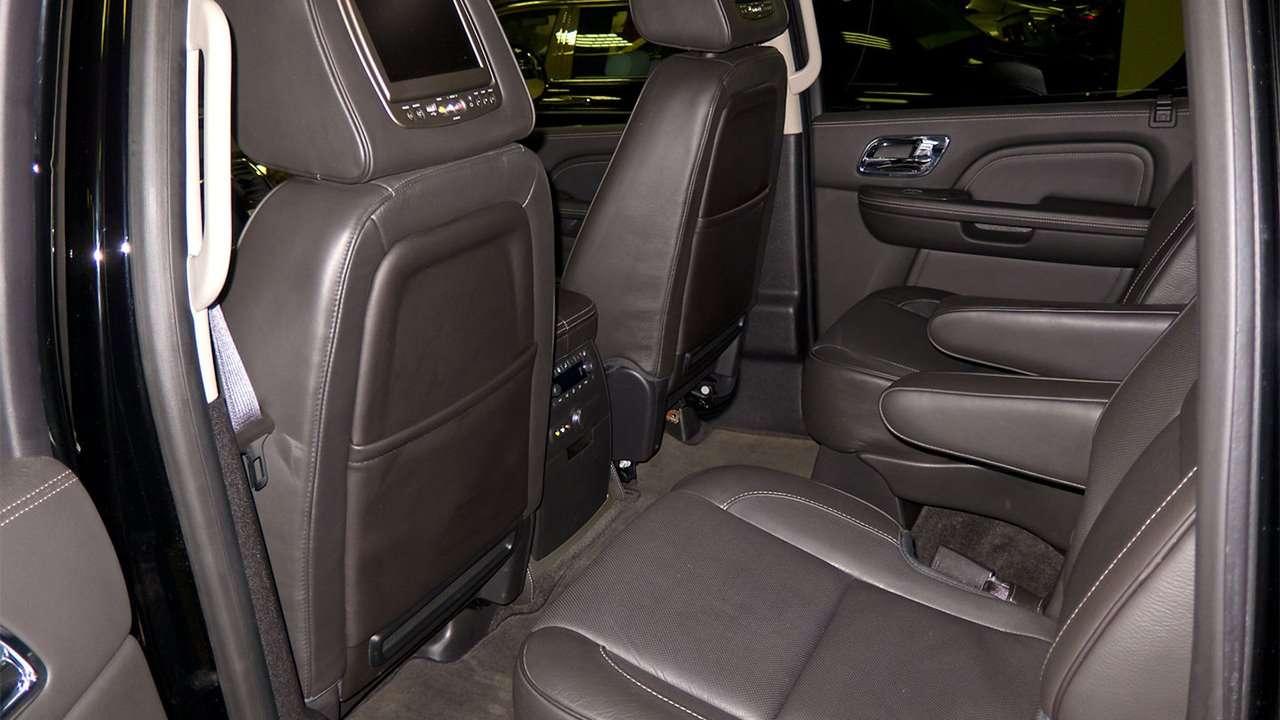 Задние сиденья Escalade 3