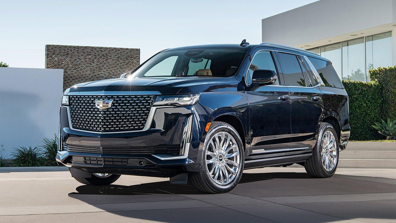 Cadillac Escalade 2020-2021 фото спереди