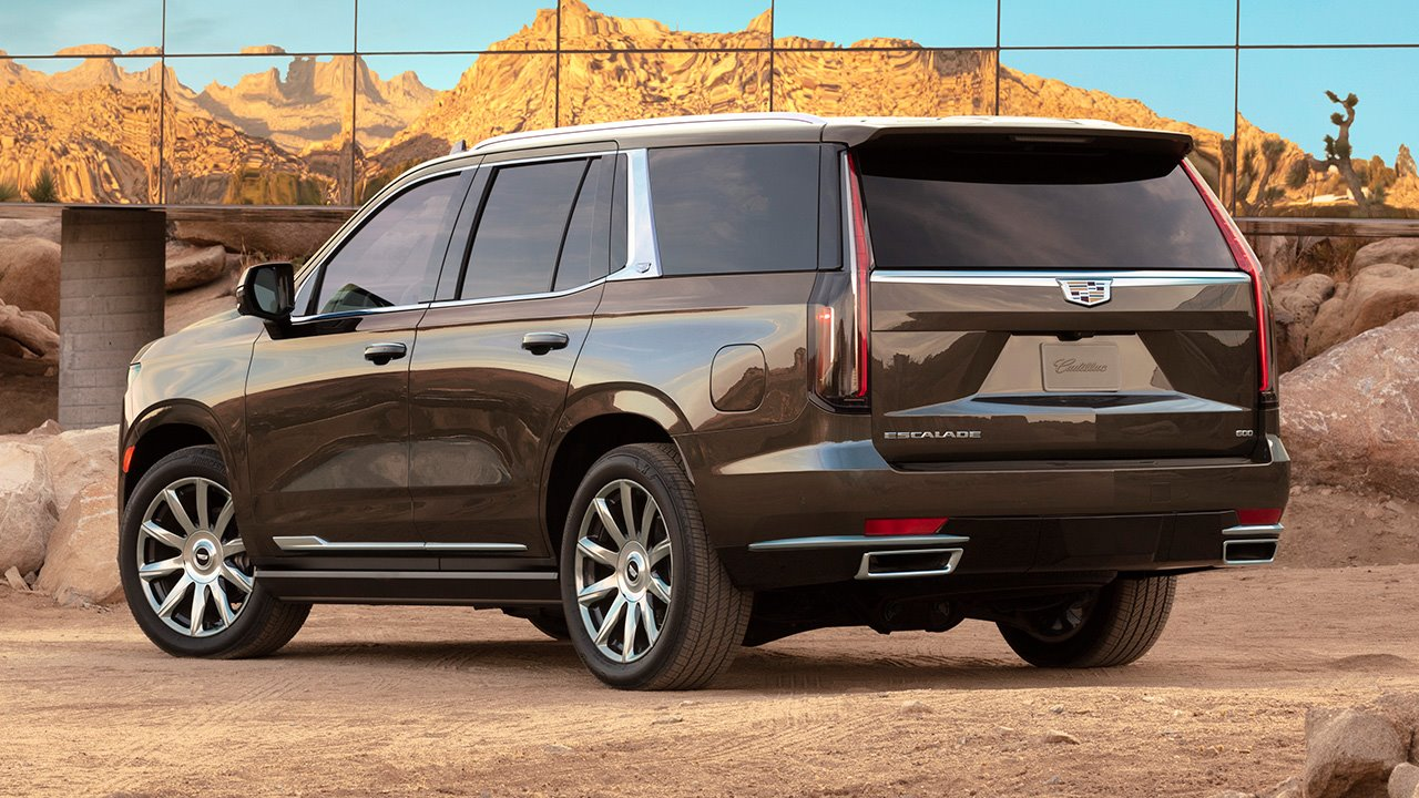Cadillac Escalade 2020-2021 салон