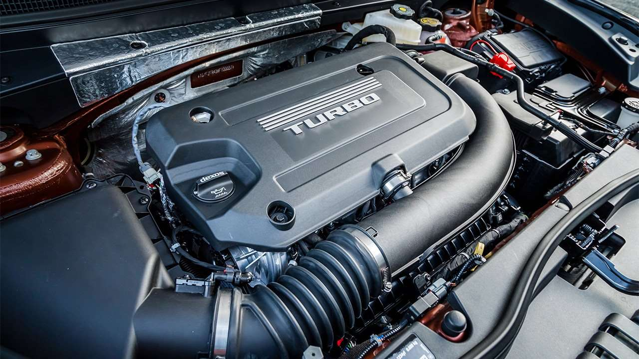 Фото двигателя Cadillac XT4