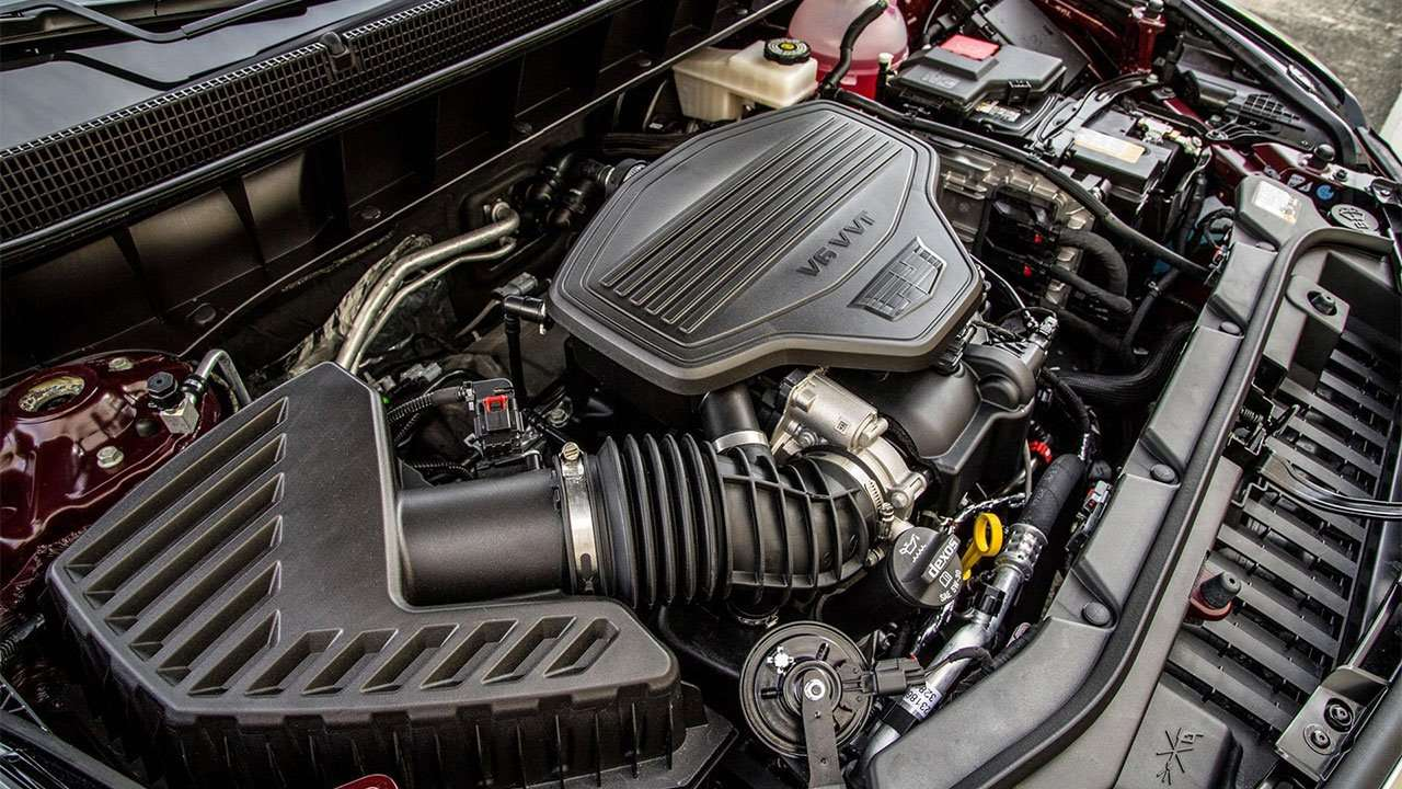 Фото мотора Кадиллак ХТ5 2020-2021