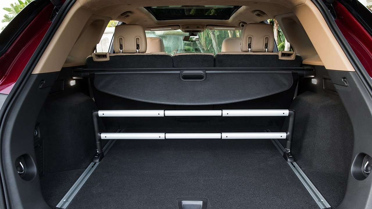 Cadillac XT5 2020-2021 фото багажника