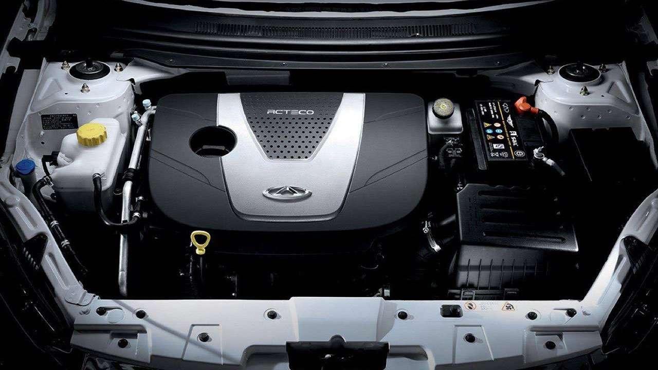 Фото двигателя Чери Arrizo 7