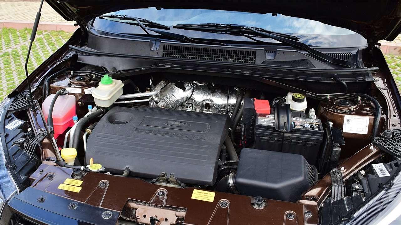 Двигатель Чери Тигго 3